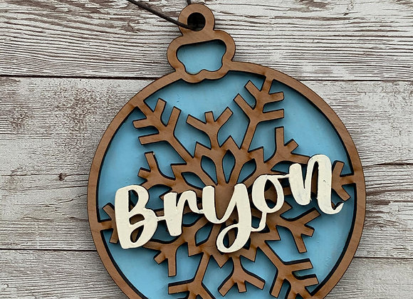 Triple Layer Christmas Ornament
