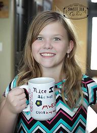 Addys Positive Word Coffee Mug
