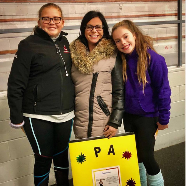 Ella and Lily - PA of the Month December