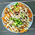 Pork Belly Waffle Fries