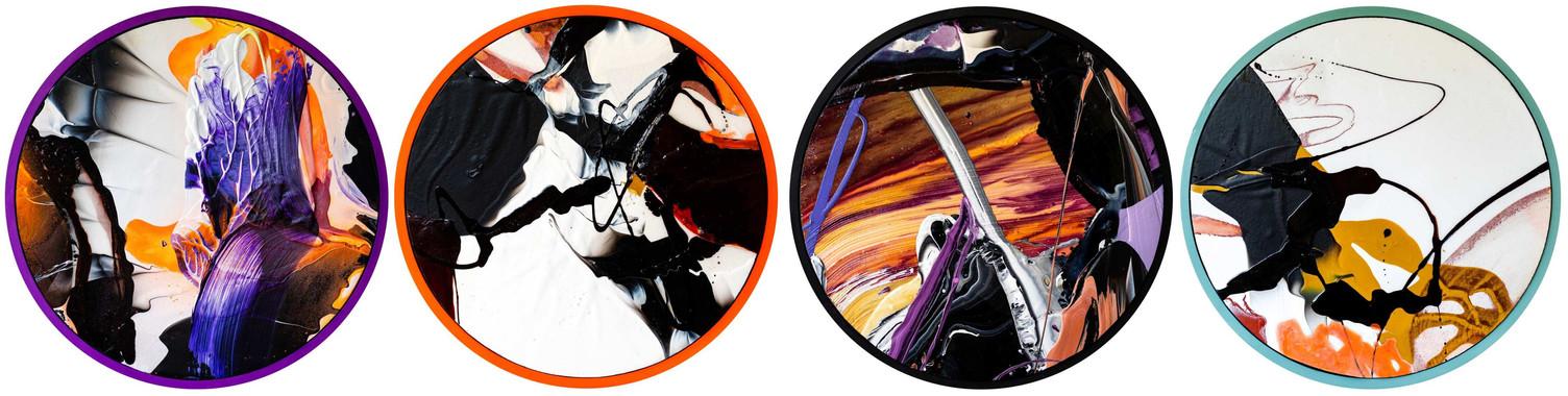 Colour Bubble - 4 Circles