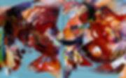 Joy 1500 x 2400 mm mixed media on canvas