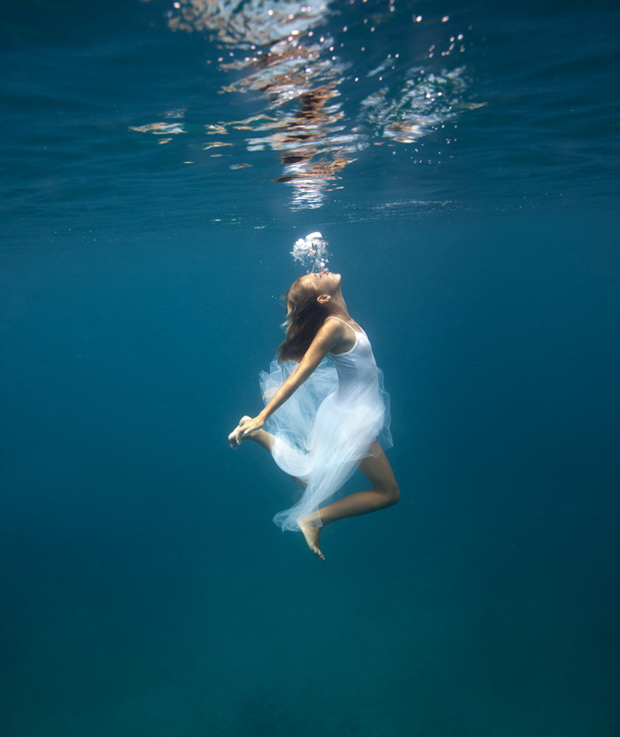 Photo credits: Underwater Bubbles by Elena Kalis