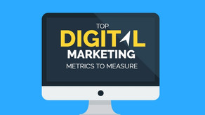 Marketing metrics to measure