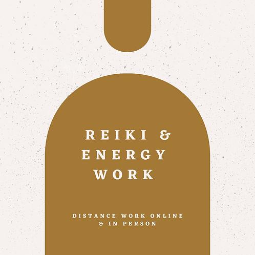 REIKI & ENERGY WORK
