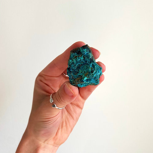 CHRYSOCOLLA Grace + Intuition + Truth + Empowered Divine Femininity