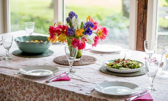 Dinning at Lower Coxbridge House.jpg