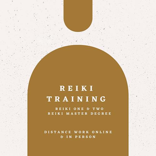 REIKI TRAINING