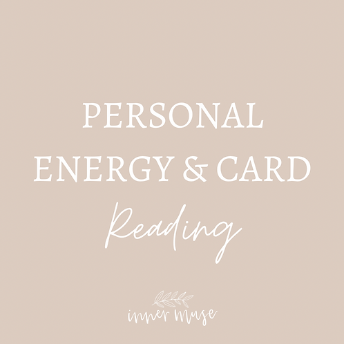 PERSONAL ORACLE CARD & ENERGY READING