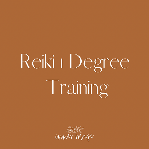 Reiki 1 Degree Training