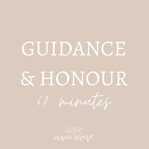 INNER MUSE GUIDANCE & HONOUR 1:1 60 MINUTES