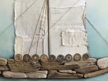 'All At Sea' - the story of a painting inspired by a pandemic