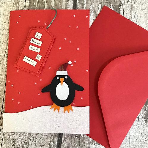 'Christmas Penguin'