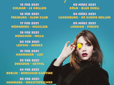 Sofia Portanet Announces Tour For Early 2021