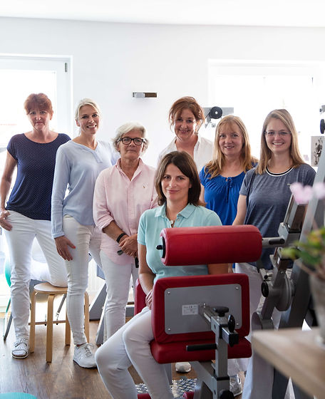 reAKTIV Tegernsee - Praxis für Physiotherapie und Rehabilitation. Das Team