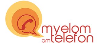 Myelom am Telefon Logo