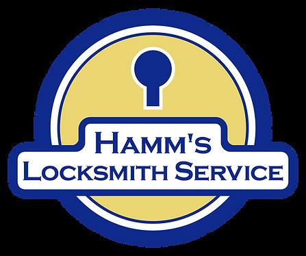 Hamm's Locksmith Service Logo Nicholasville Kentucky