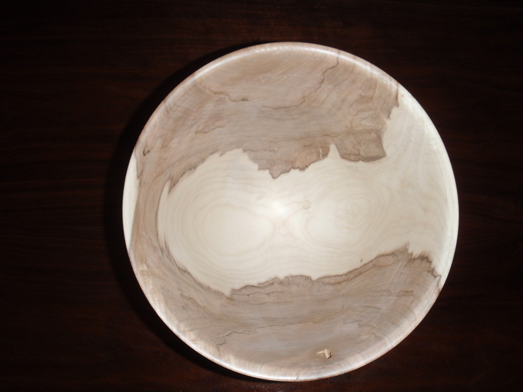 Maple w alabaster base