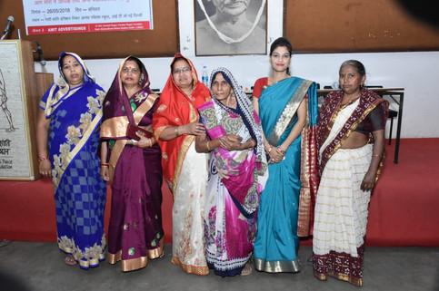Smita Karan in social circle