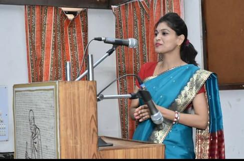 Smita Karan at Gandhi Bhavan