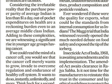 India will see 50% more cancer patients