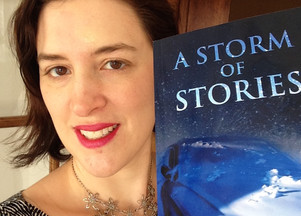 """Stage Fright, Hope and Excitement: Publication Day for """"A Storm of Stories"""""""