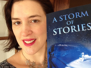 "Stage Fright, Hope and Excitement: Publication Day for ""A Storm of Stories"""