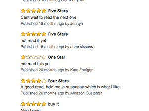 "Reviews from Hell-""One star-Not read it yet"""