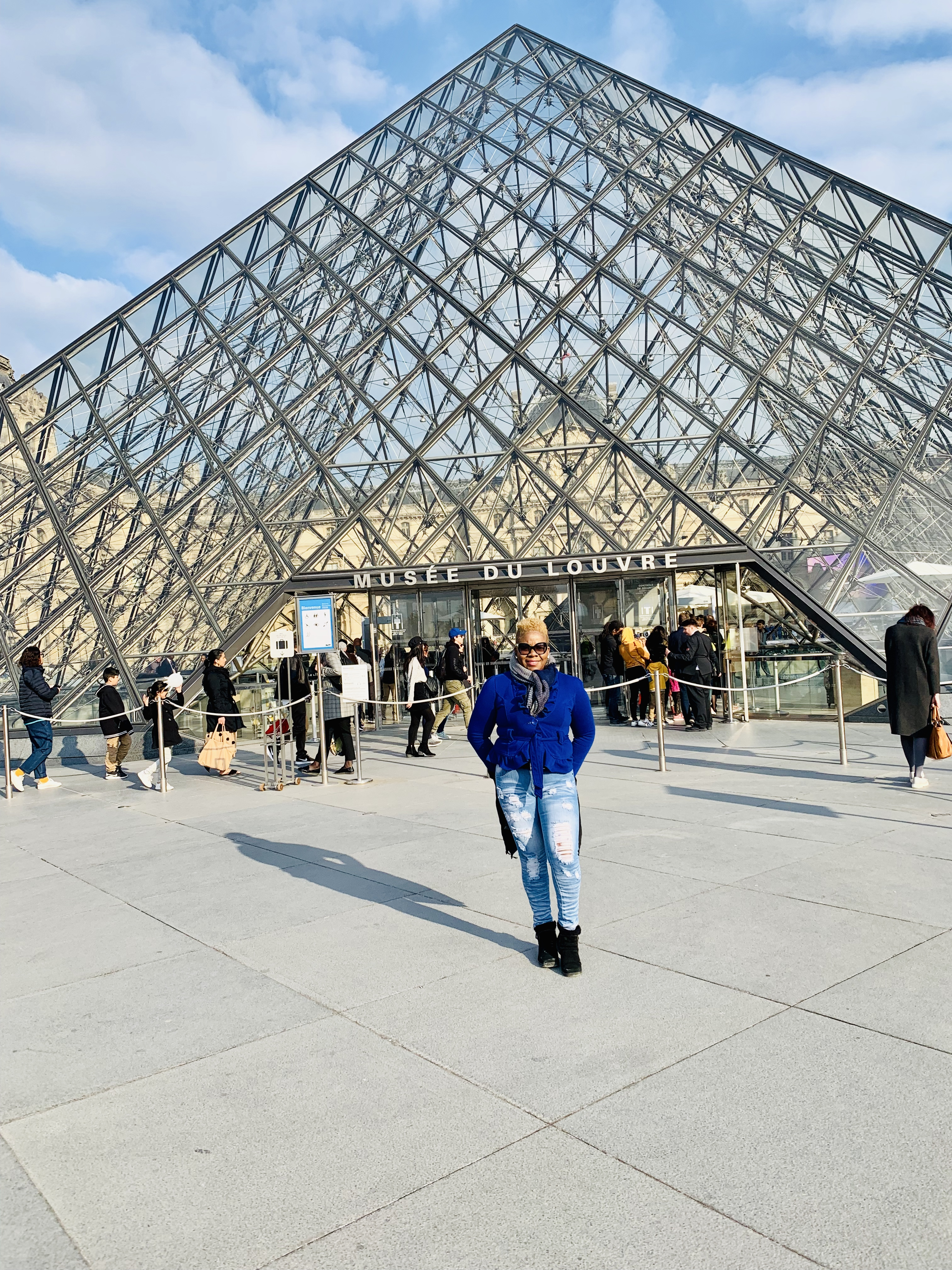 Louvre Museum 2019