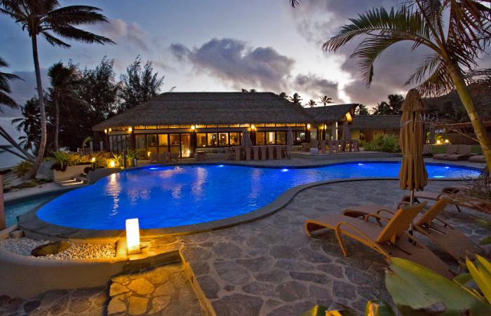 Nautilus Resort Polynesian Restaurant Po