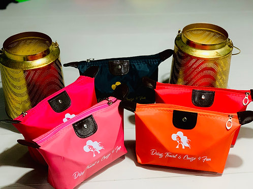 Divas Makeup Travel Cosmetic Bag