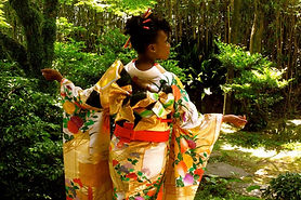 Black Woman in Japan