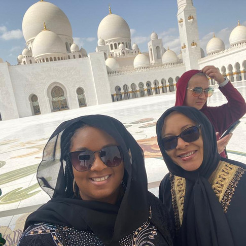 Dubai -Zayed Mosque