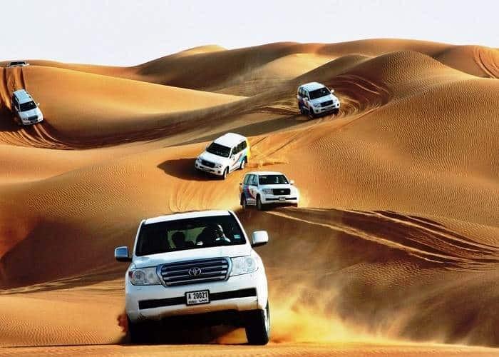 Desert Sand Bashing