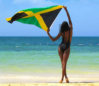 Jamaican on the Beach