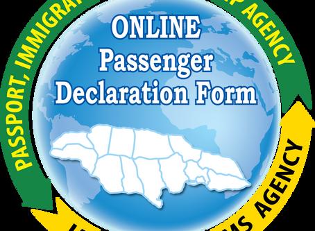 Jamaica's Online Passenger Declaration System