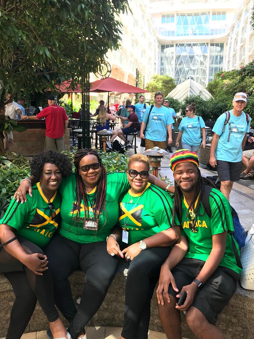 Jamaicans cruising