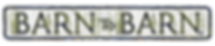 BarntoBarn sign