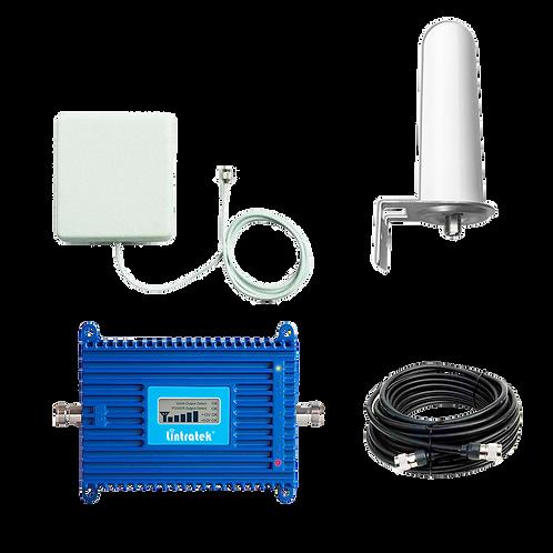 Kit Amplificador Urbano Certificado Lintratek KW20L-LTE-26  60 dBi