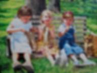 Cindy Valek Mottl - Summertime Friends