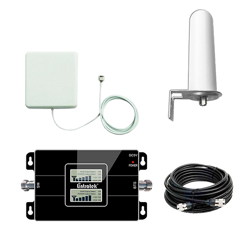 Kit Amplificador Urbano Certificado Lintratek KW17L-CP 60 dBi