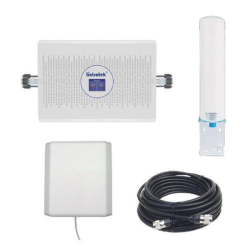 Kit Amplificador Rural Certificado Lintratek KW23C-CP 65 dBi