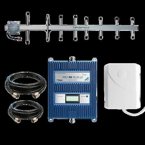 Kit Amplificador De Señal De Alta Potencia Wilson Pro 70 Plus Lx