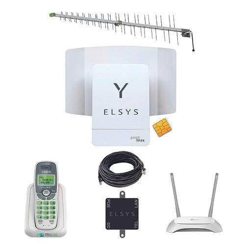 Kit Amplimax con Antena Yagi