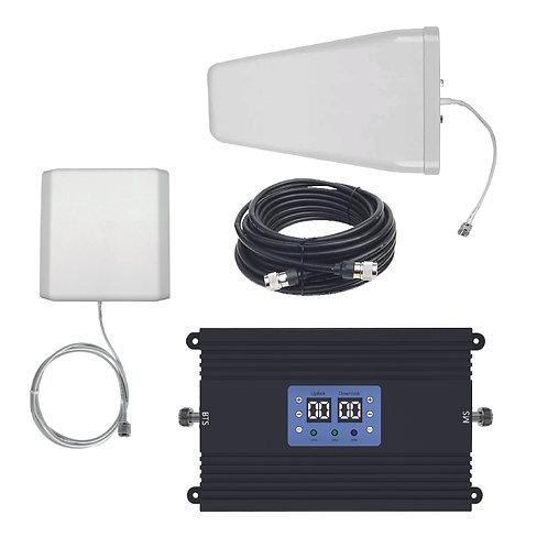 Kit Amplificador Rural Certificado Lintratek KW25A-CP  80 dBi