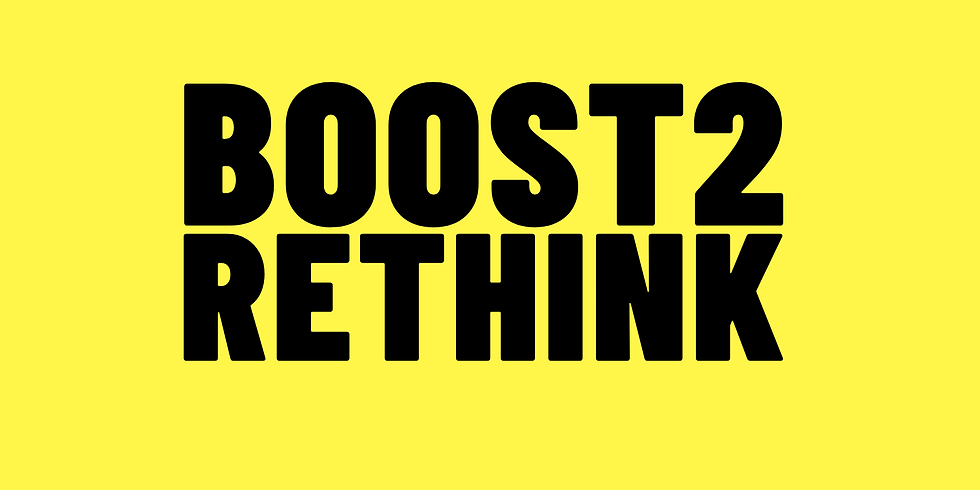 Boost2Rethink New Ideas & Solutions