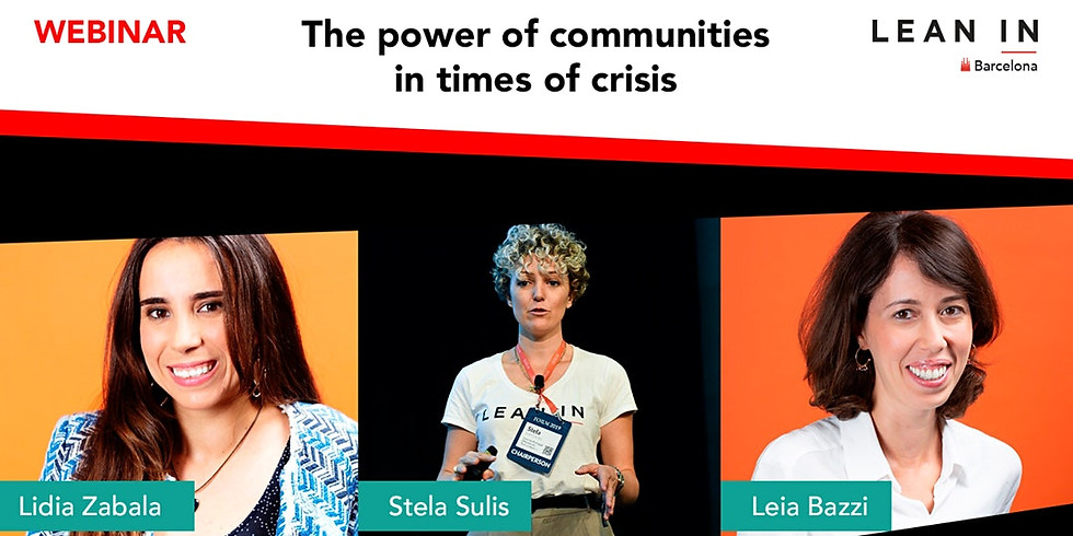 The power of communities in times of crisis