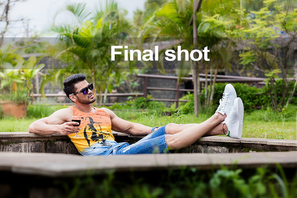 This is final shot with model 'Aniket', and he is looking damn sexy init.