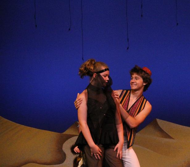 Aladdin & harem girl