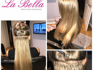 La Bella Nano Tip Hair Extensions